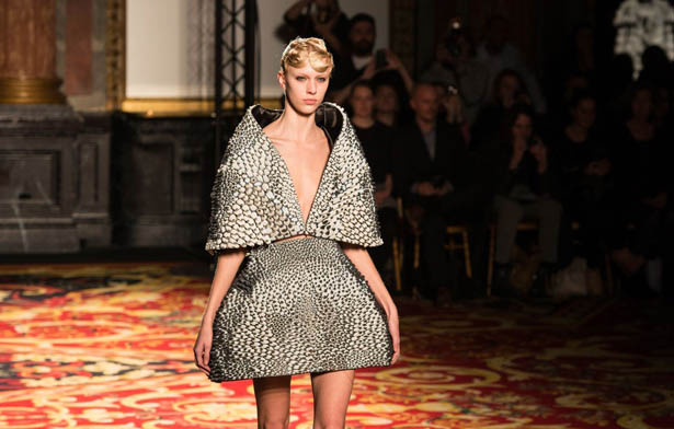 Wearable Stratasys and Materialise 3D Printed Pieces Hit Paris Fashion Week at Iris van Herpen Show