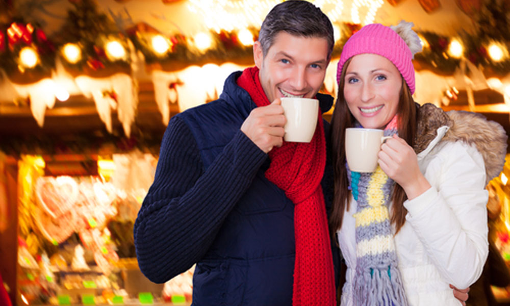 Christmas in Vienna means romantic Christmas markets.