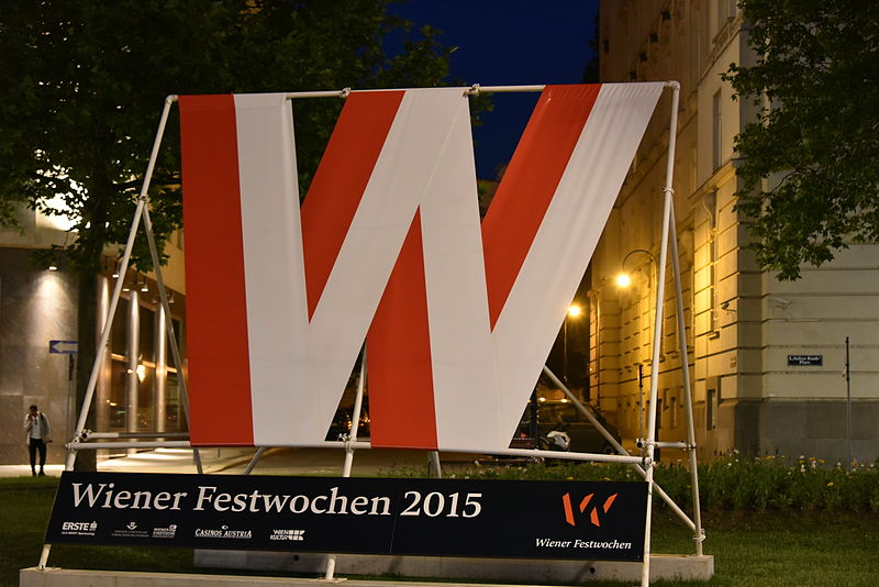 Wiener Festwochen (Photo © Christian Michalides; CC-BY-SA 4.0)
